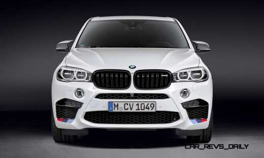 BMW M Performance Parts for 2015 X5M and X6M 7
