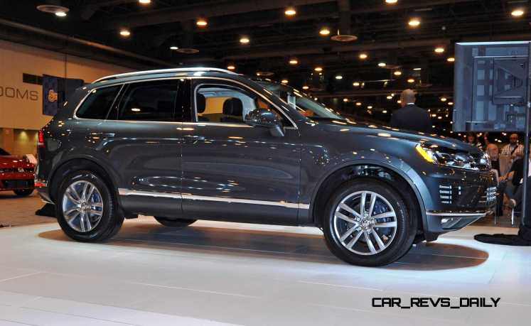 First Drive Review - 2015 Volkswagen Touareg TDI Feels Light, Quick and Lux 12
