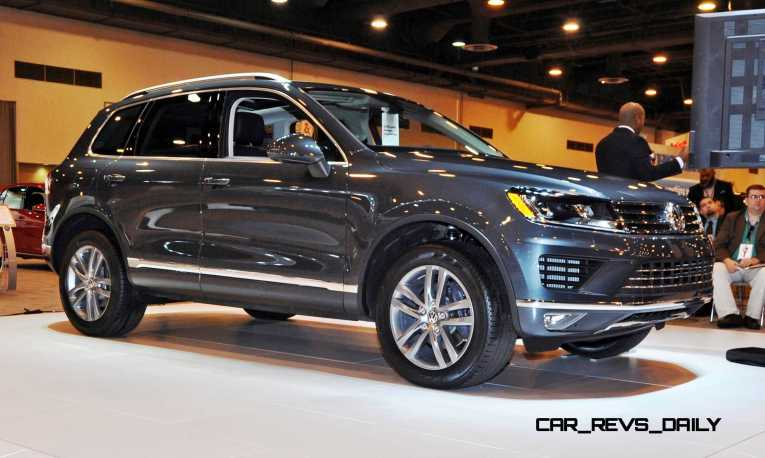 First Drive Review - 2015 Volkswagen Touareg TDI Feels Light, Quick and Lux 13