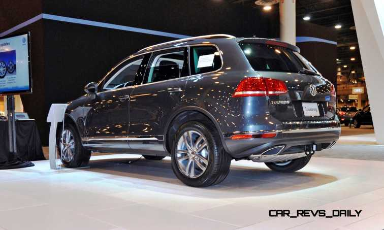 First Drive Review - 2015 Volkswagen Touareg TDI Feels Light, Quick and Lux 5
