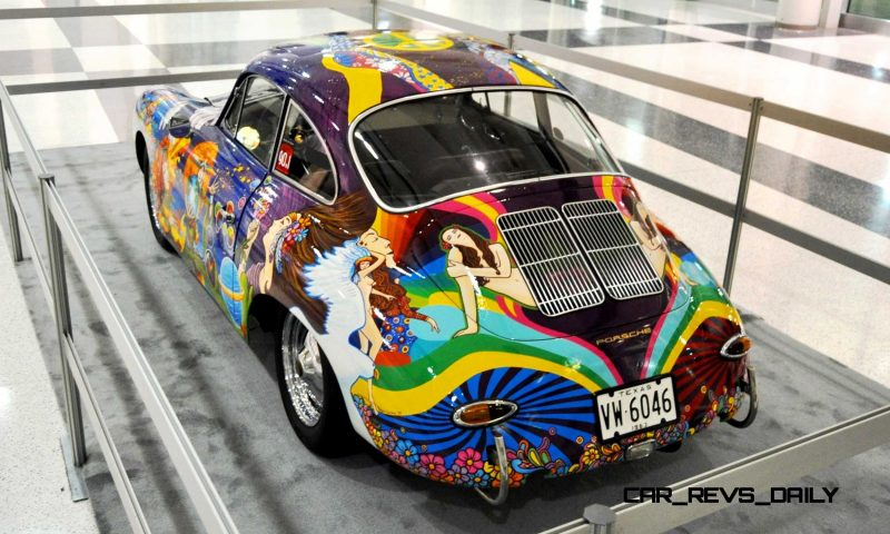 Houston Auto Show Curio - Porsche 356 Art Car Is Janis Joplin Homage 2