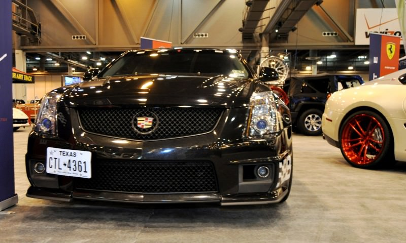 Houston Auto Show Tuners - RSV Forged Wheels, Hoosier Drag Mustang GT and ADV1 911 GT3 10