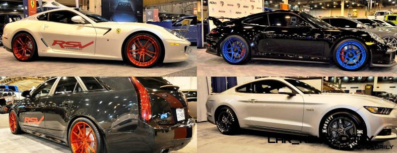 Houston Auto Show Tuners - RSV Forged Wheels, Hoosier Drag Mustang GT and ADV1 911 GT3 13-tile