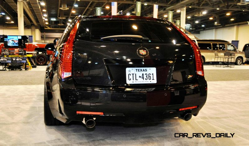Houston Auto Show Tuners - RSV Forged Wheels, Hoosier Drag Mustang GT and ADV1 911 GT3 6