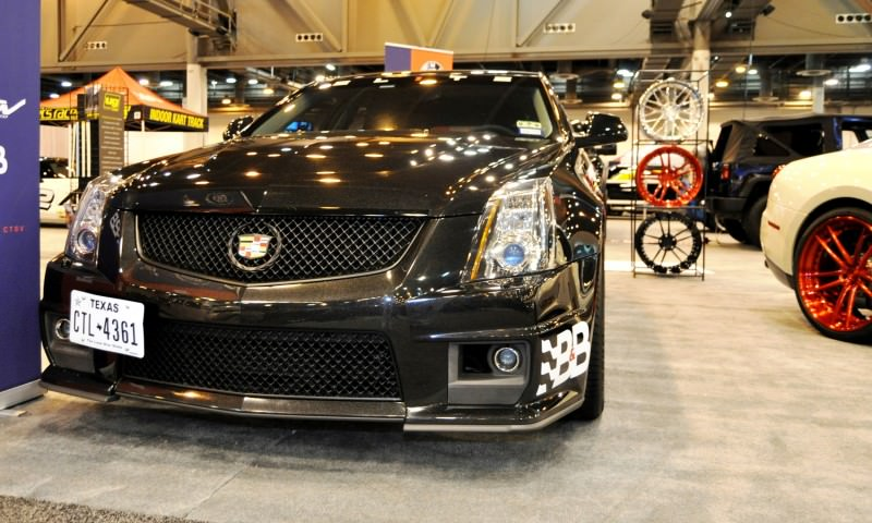 Houston Auto Show Tuners - RSV Forged Wheels, Hoosier Drag Mustang GT and ADV1 911 GT3 9