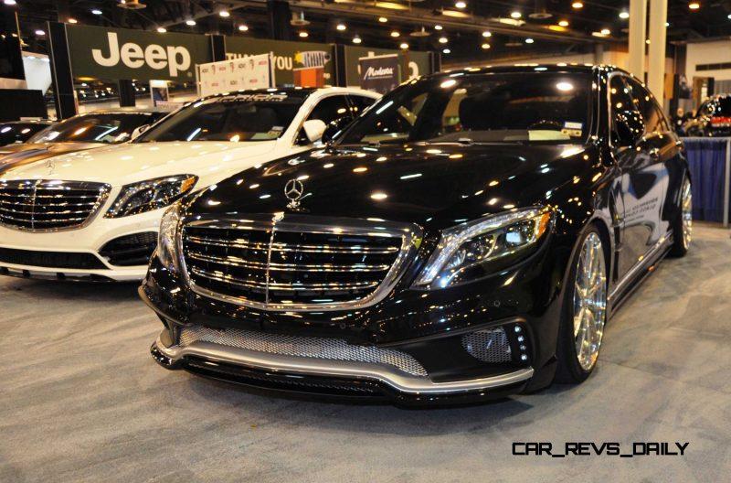 Houston Tuner Showcase - 2015 Mercedes-Benz S-Class by MODESTA Glass Coatings Ft. Prior Design Bodykits 10