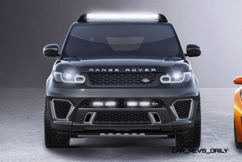 Jaguar Land Rover 007 SPECTRE Cars 2