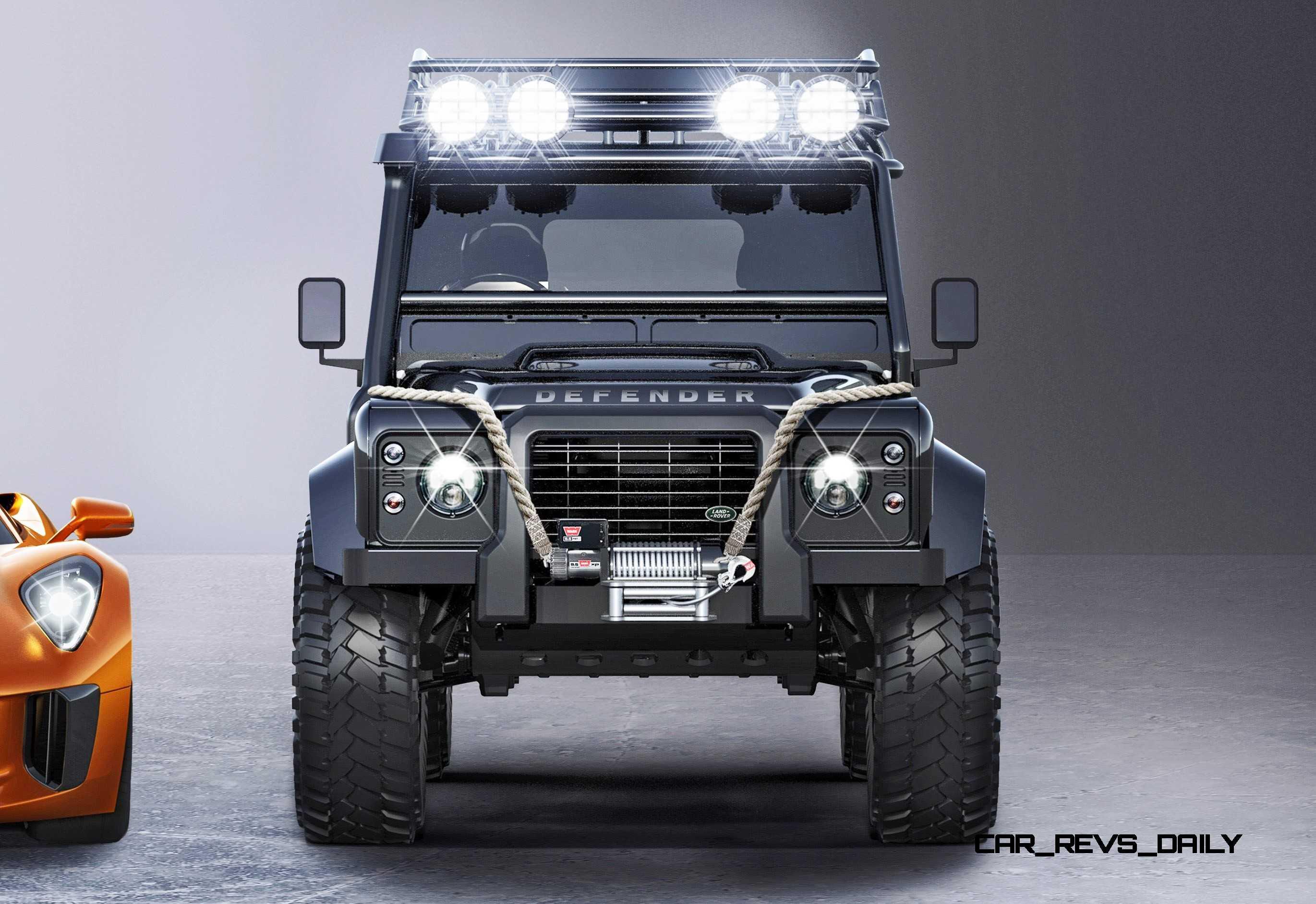 Jaguar Land Rover 007 SPECTRE Cars 3
