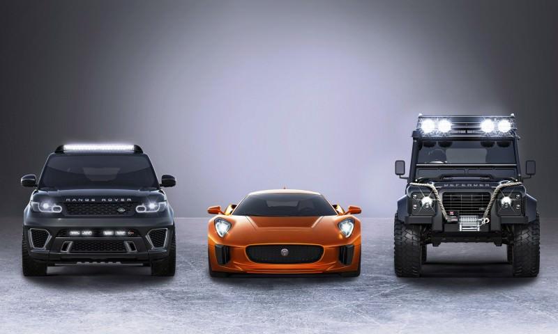 Jaguar Land Rover 007 SPECTRE Cars 5