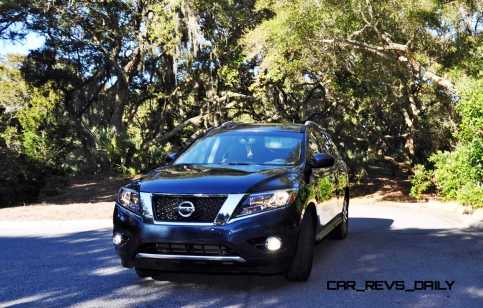 Road Test Review - 2015 Nissan Pathfinder SV 4WD 122