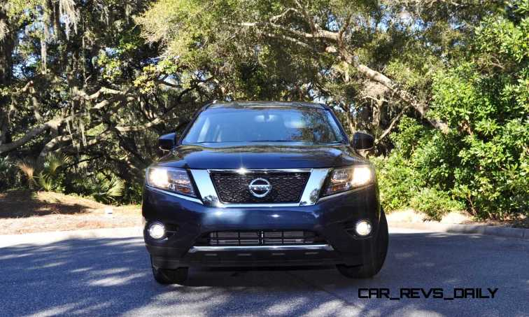 Road Test Review - 2015 Nissan Pathfinder SV 4WD 123