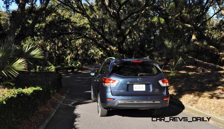 Road Test Review - 2015 Nissan Pathfinder SV 4WD 128