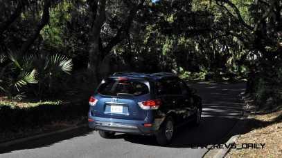 Road Test Review - 2015 Nissan Pathfinder SV 4WD 132
