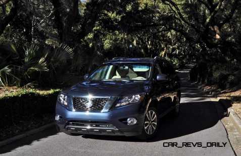 Road Test Review - 2015 Nissan Pathfinder SV 4WD 146