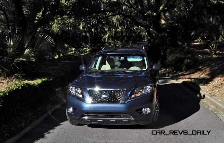 Road Test Review - 2015 Nissan Pathfinder SV 4WD 149