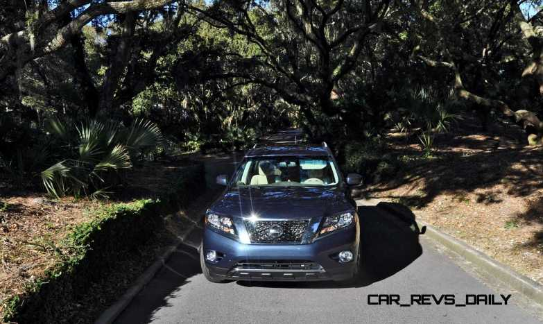 Road Test Review - 2015 Nissan Pathfinder SV 4WD 150