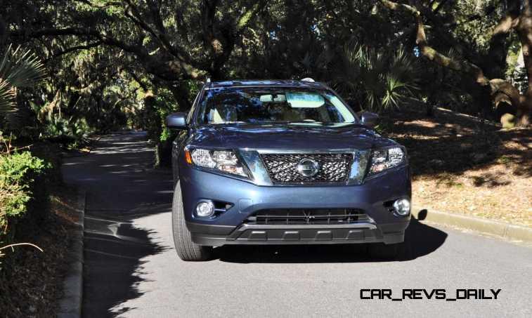 Road Test Review - 2015 Nissan Pathfinder SV 4WD 155