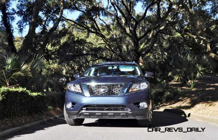 Road Test Review - 2015 Nissan Pathfinder SV 4WD 159