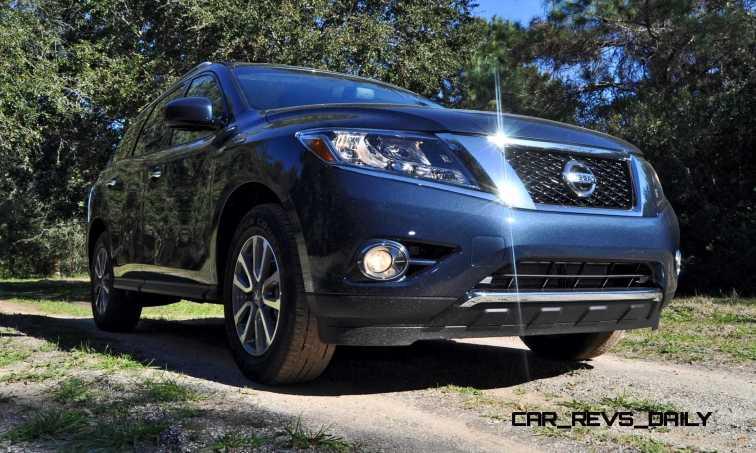 Road Test Review - 2015 Nissan Pathfinder SV 4WD 16