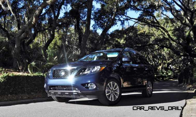 Road Test Review - 2015 Nissan Pathfinder SV 4WD 163