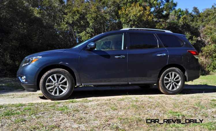 Road Test Review - 2015 Nissan Pathfinder SV 4WD 26