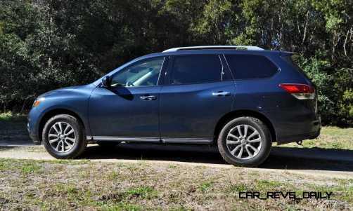 Road Test Review - 2015 Nissan Pathfinder SV 4WD 28
