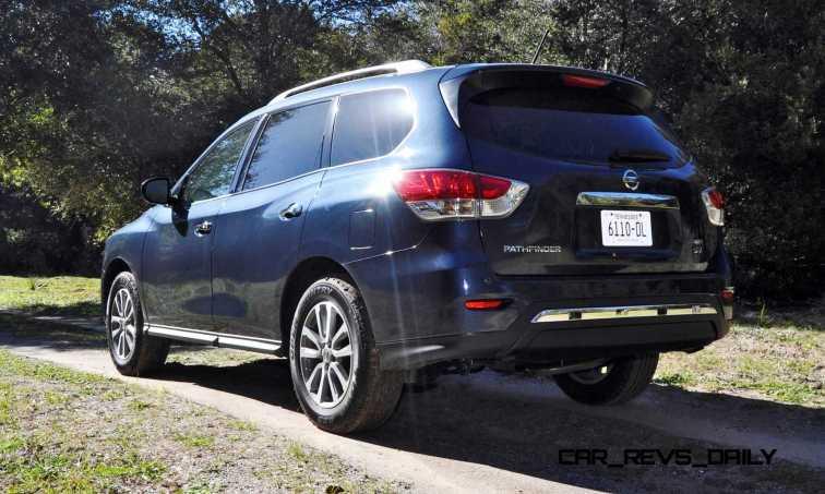 Road Test Review - 2015 Nissan Pathfinder SV 4WD 34
