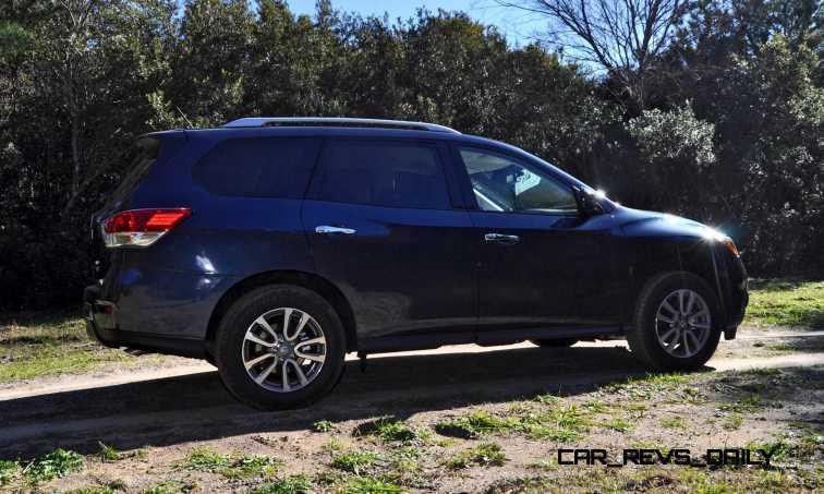 Road Test Review - 2015 Nissan Pathfinder SV 4WD 45