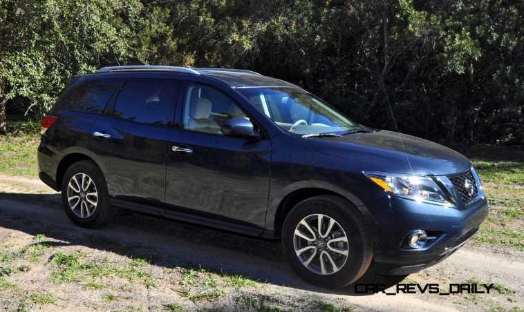 Road Test Review - 2015 Nissan Pathfinder SV 4WD 50