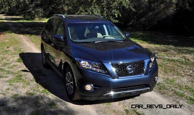 Road Test Review - 2015 Nissan Pathfinder SV 4WD 54