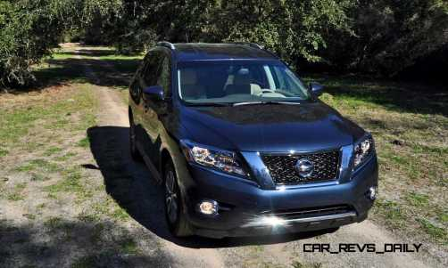 Road Test Review - 2015 Nissan Pathfinder SV 4WD 55