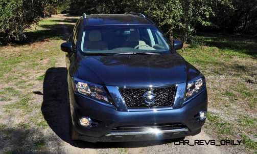 Road Test Review - 2015 Nissan Pathfinder SV 4WD 57