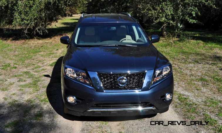 Road Test Review - 2015 Nissan Pathfinder SV 4WD 58