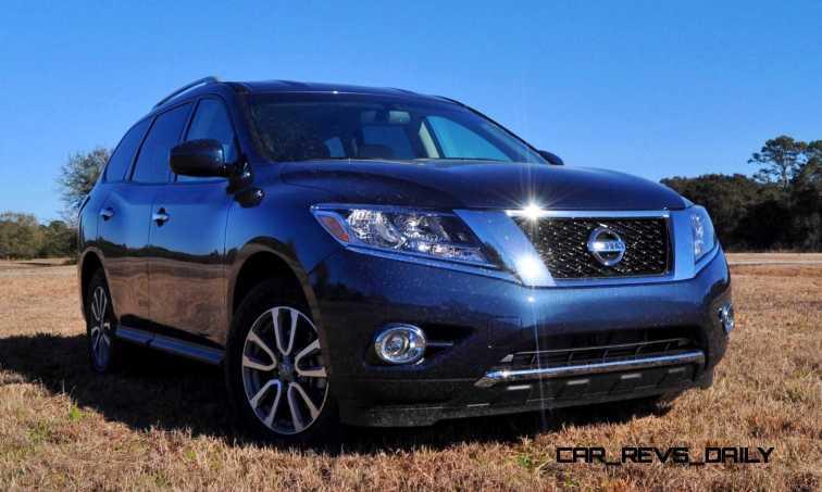 Road Test Review - 2015 Nissan Pathfinder SV 4WD 75