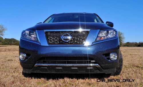 Road Test Review - 2015 Nissan Pathfinder SV 4WD 83