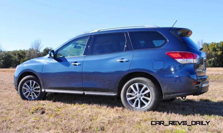 Road Test Review - 2015 Nissan Pathfinder SV 4WD 96