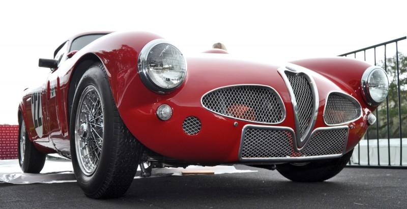 1953 Alfa Romeo 6C 3000CM Shows Origin of 2015 4C Nose Design 26