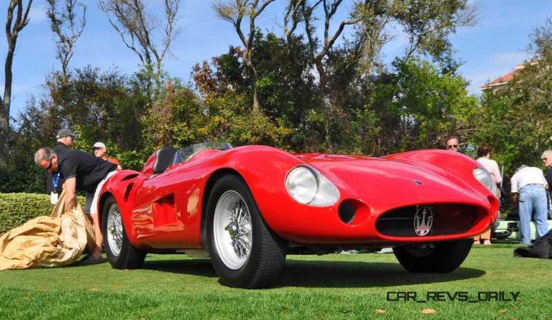 1956 Maserati 300S -  Amelia Island 2015 8