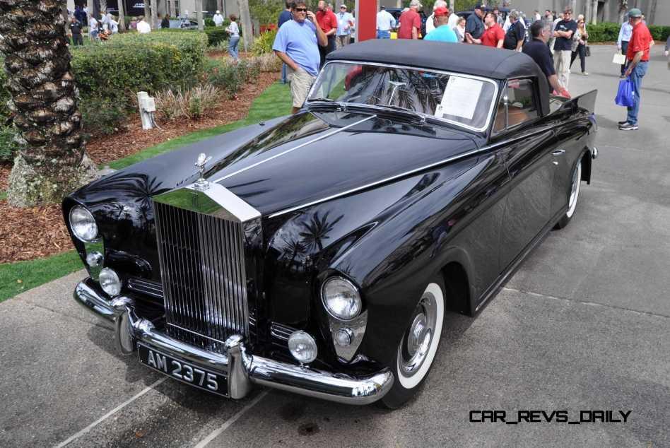 1958 Rolls-Royce Silver Cloud Honeymoon Express 23