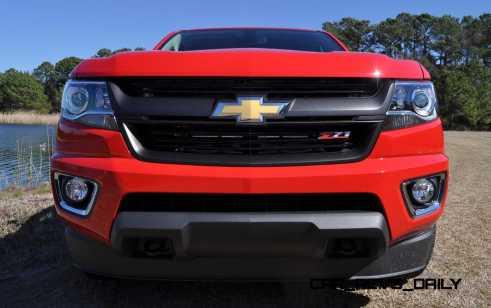 2015 Chevrolet Colorado Z71 45