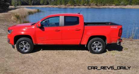 2015 Chevrolet Colorado Z71 55