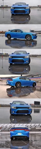 2015 Dodge Charger RT Scat Pack in B5 Blue 2-vert