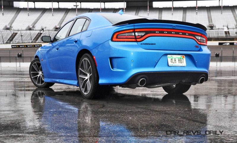 2015 Dodge Charger RT Scat Pack in B5 Blue 45