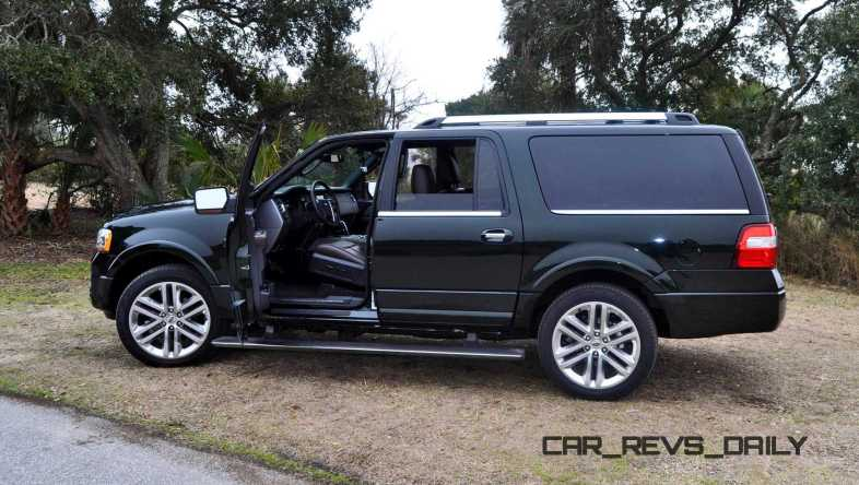 2015 Ford Expedition Platinum EL 50
