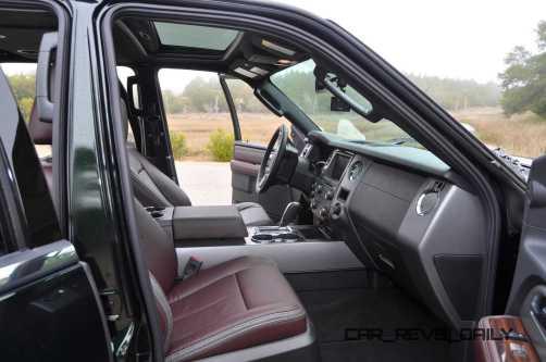 2015 Ford Expedition Platinum EL Interior 1