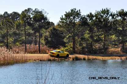 2015 Ford Mustang EcoBoost in Triple Yellow 132