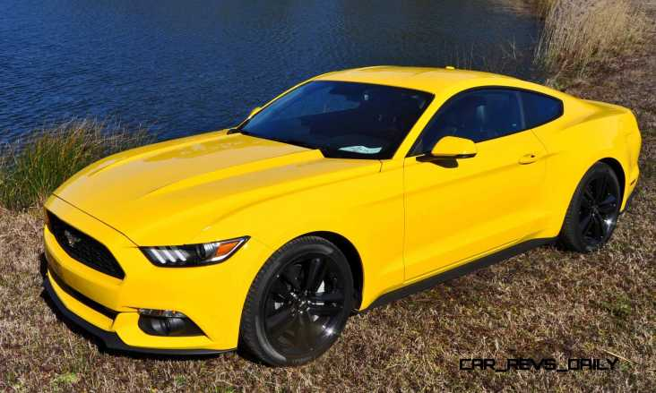 2015 Ford Mustang EcoBoost in Triple Yellow 147