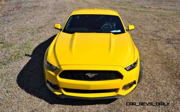 2015 Ford Mustang EcoBoost in Triple Yellow 59