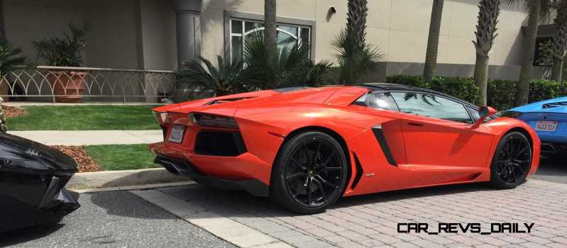 2015 Lamborghini Aventador Roadster  11