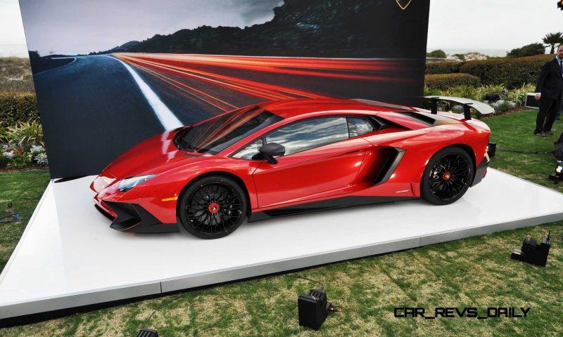 2015 Lamborghini Aventador SV USA Reveal 22